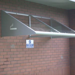 2Mtr Wall Mounted Smoking Canopy