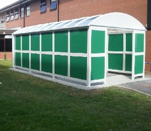 Bin Storage Shelter