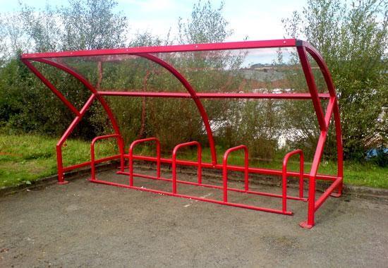 Salisbury 10 Cycle Shelter