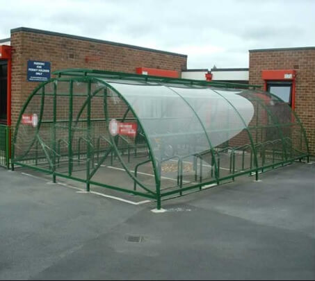 Dewsbury Cycle Compound