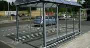 STANDARD HD TROLLEY SHELTER WITH BUMP RAILS AND LOGO