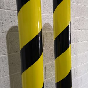 Steel Powder Coated Bollard