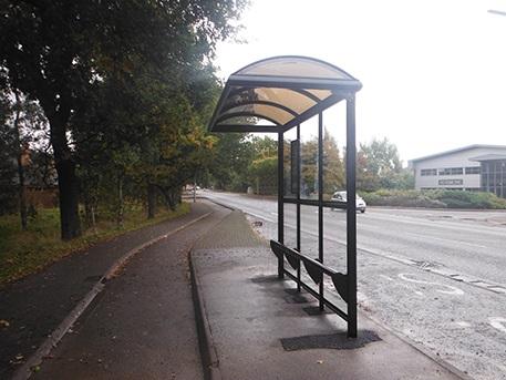 3 Bay Cantilever Heritage Bus Shelter