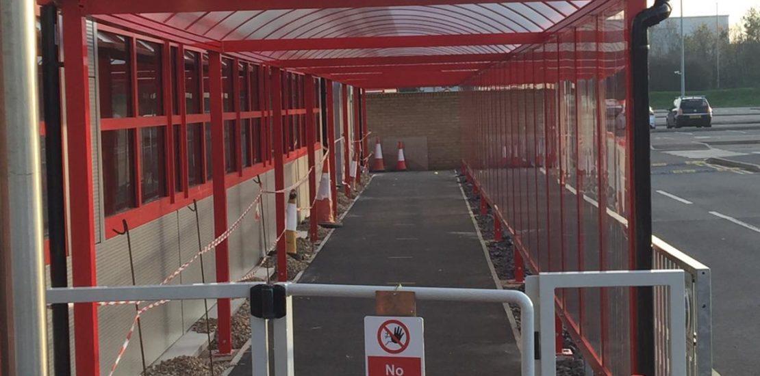 Social Distancing Walkway