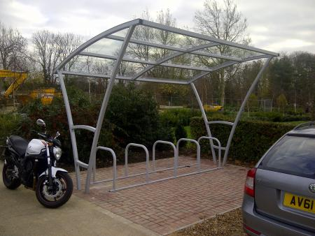 York 10 Cycle Shelter