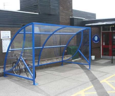 Dewsbury Cycle Shelter