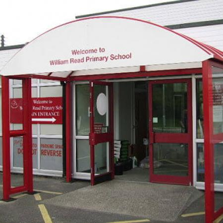HD Entrance Canopy with signage