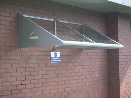 2Mtr Wall Mounted Smoking Canopy