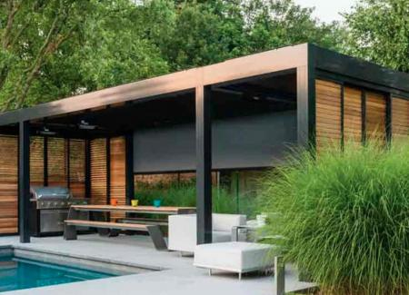 Milan Louvered Canopy